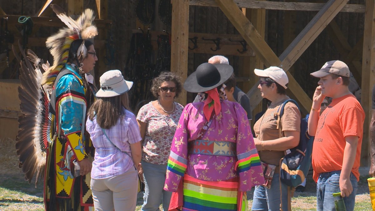 National Indigenous Day was celebrates at Fort Whoop-Up with a mini pow-wow and traditional events.
