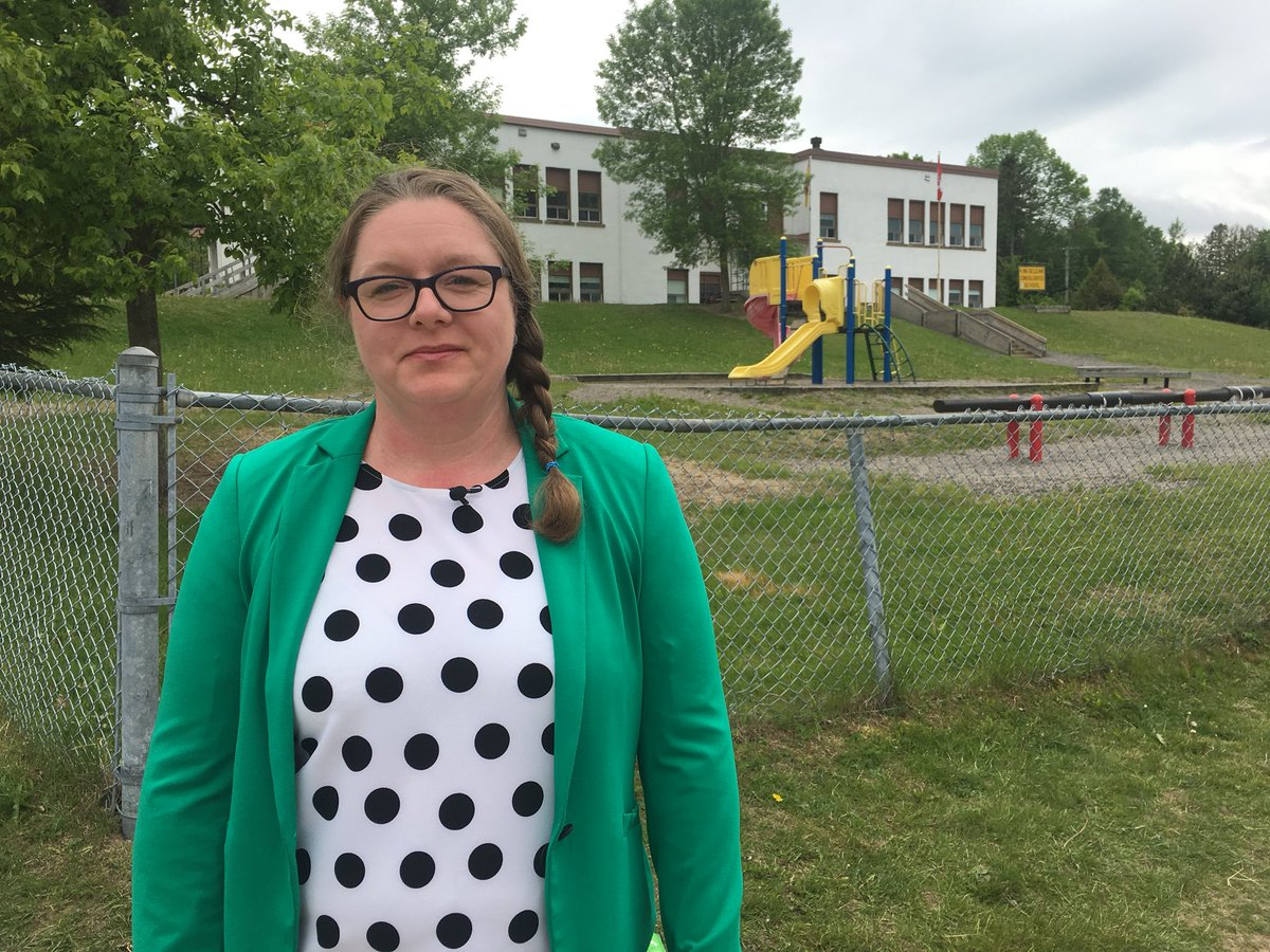 Kingsclear Parents' School Support Committee Chair Rebecca Atkinson wants to see a French Immersion program started at the school.
