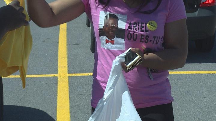 Community members rally to help the Kouakou family.