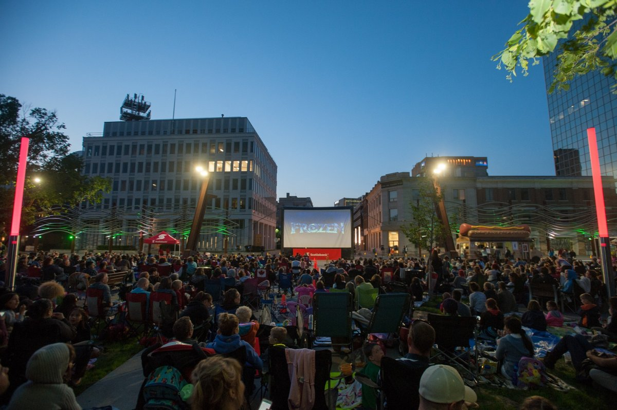 The Regina Downtown Business Improvement District (RDBID) held the Cinema Under the Stars as part of it's 2018 programming.