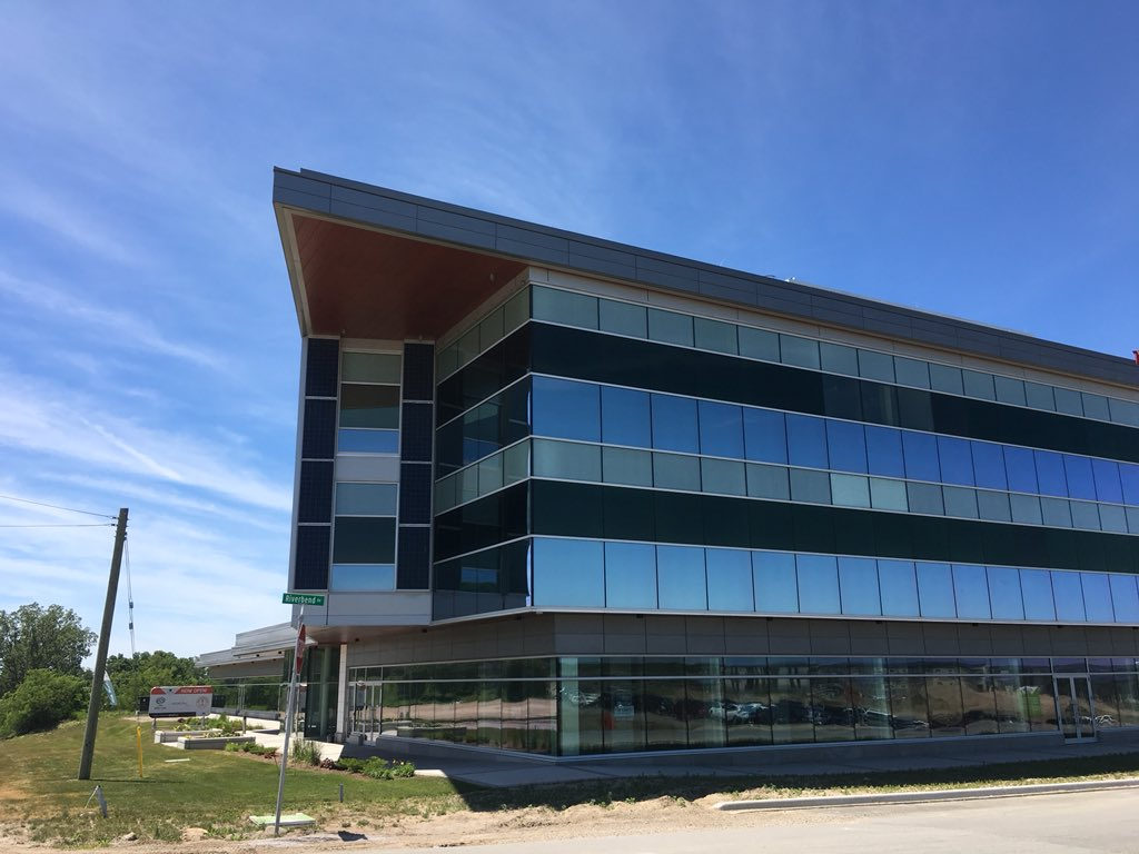 The new head office will sit inside the second floor of the Sifton Centre at the corner of Oxford Road and Riverbend Road.