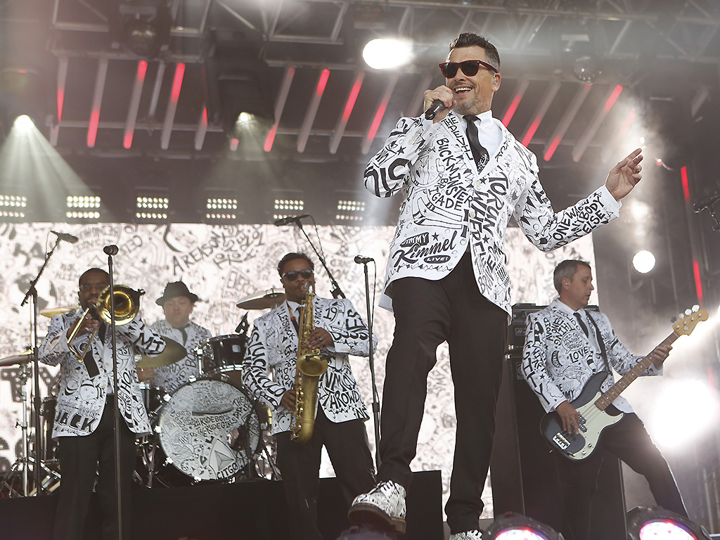 The Mighty Mighty Bosstones appear on 'Jimmy Kimmel Live' on March 16, 2018.