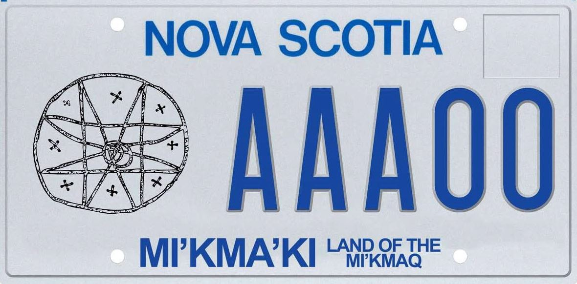 Nova Scotia is set to unveil a new Mi'kmaq licence plate today. Deputy premier Karen Casey and Chief Wilbert Marshall of Potlotek First Nation in Cape Breton will officially release the new plate, seen here in an undated handout image, during a ceremony in Truro.