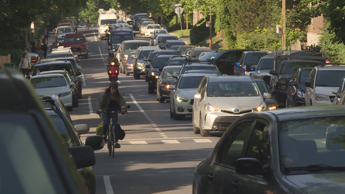 Cyclists say the NDG Avenue bike path is too dangerous.