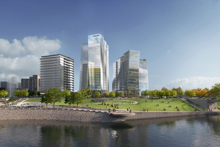 Nutrien announced it will be the anchor tenant of the new Nutrien Tower at the River Landing development in Saskatoon.