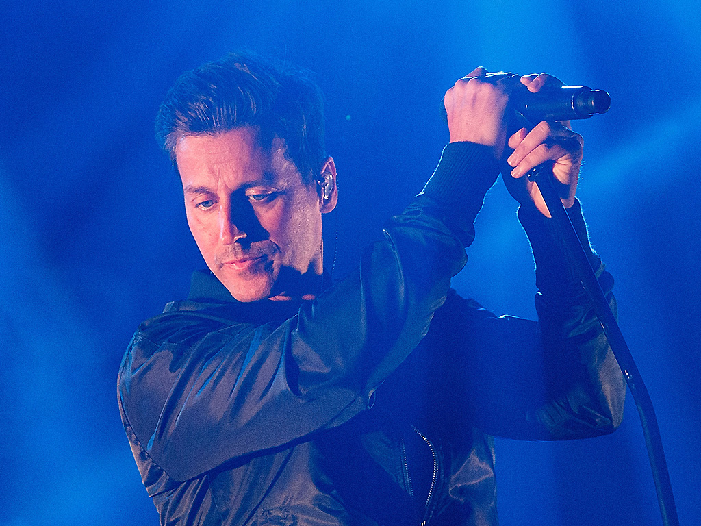 Raine Maida of Our Lady Peace performs onstage at Abbotsford Entertainment and Sports Centre on October 15, 2016.