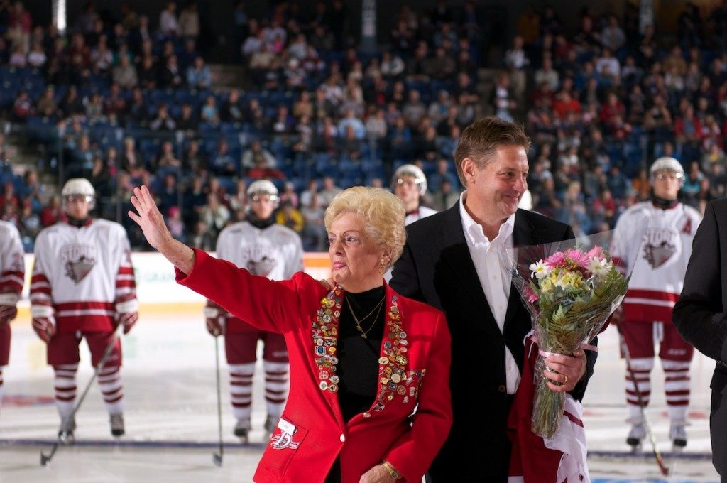 Longtime Guelph Storm volunteer Rita Campbell died in June 2018 at the age of 88.