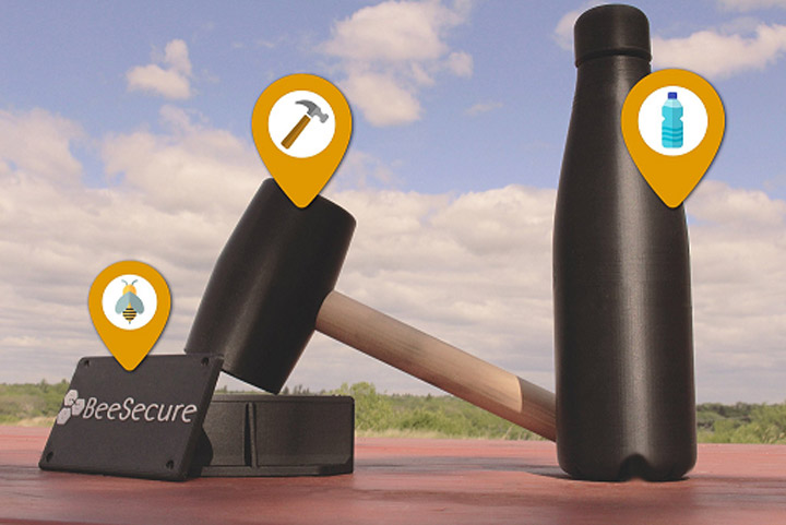 BeeSecure, developed by Saskatoon-based Rivercity Technology Services, is a tracking device and app that could help locate stolen property.