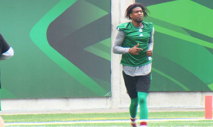 Saskatchewan Roughriders receiver Duron Carter has pleaded guilty to his marijuana possession charge in Winnipeg.