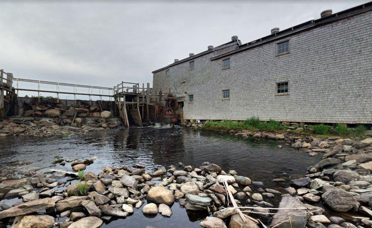 The Bangor Sawmill Museum in Meteghan River, N.S.