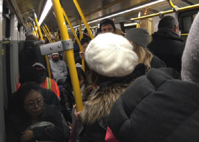 More people than ever packed onto bus, SeaBus and SkyTrain in October, setting a new record.