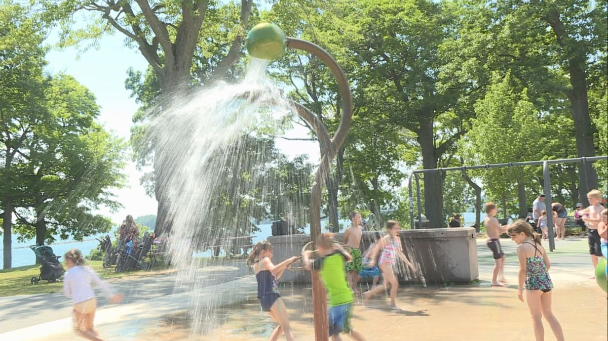 Heat warnings have been issued for the Ottawa and Kingston regions for this weekend.