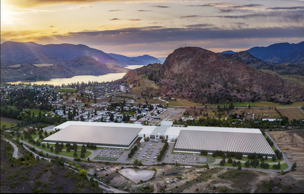 Sunniva says it has put construction of a massive cannabis facility in Okanagan Falls on hold.