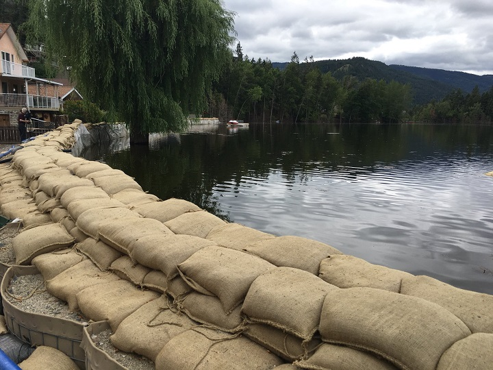 Residents of Twin Lakes in the South Okanagan have experienced years of flooding.