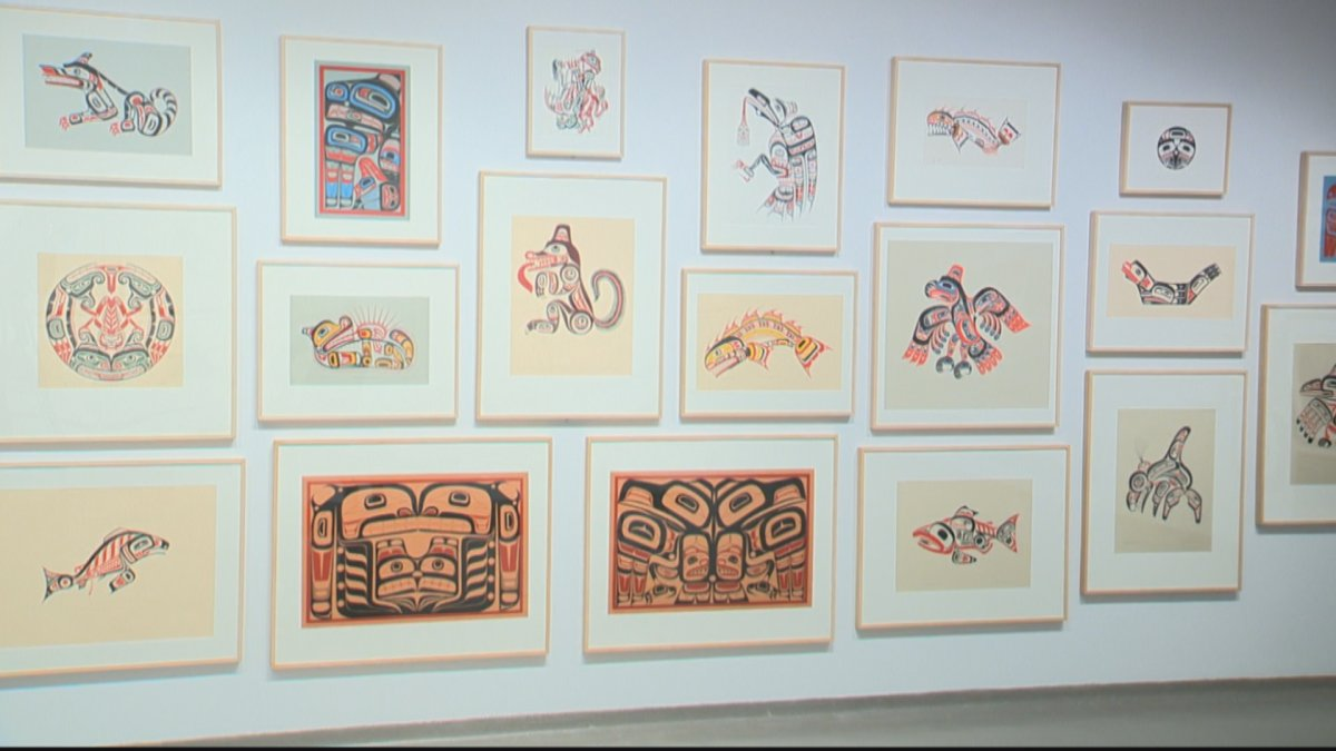 A new art exhibit opened at the University of Lethbridge thanks to a generous donation of cultural pieces.