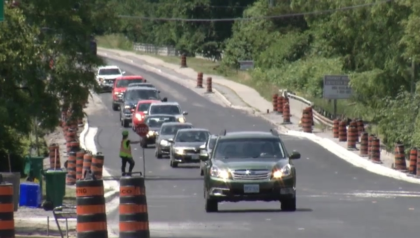 Construction worker struck by vehicle in Sturgeon Creek - image