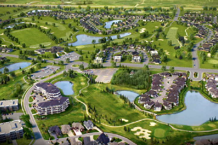 A rendering of Westhills at the Willows upon completion.
