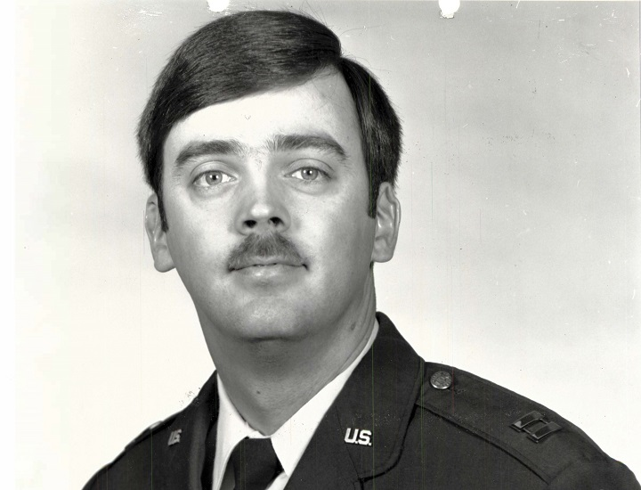 This undated photo released by the U.S. Air Force shows Capt. William Howard Hughes, Jr., who went missing 35 years ago. He was recently discovered alive in California.