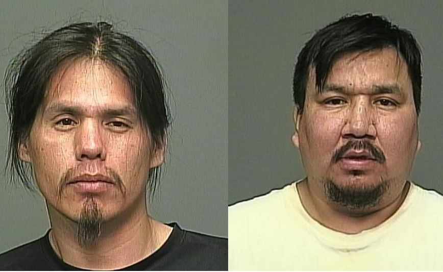 Cecil Junior Houle on the left and Winston Thomas on the right are both now in police custody.