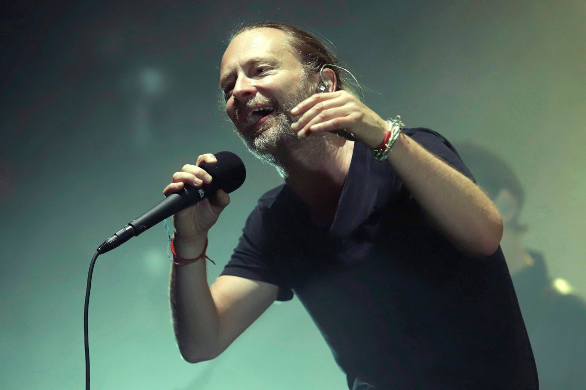 Thom Yorke of Radiohead performs in concert at Madison Square Garden on Tuesday, July 10, 2018, in New York. Radiohead is playing its first Toronto concert tonight since the fatal Downsview Park stage collapse that killed their drum technician Scott Johnson six years ago.