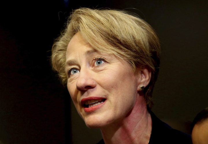 Alice Wells, the U.S.'s top diplomat, in a file photo.