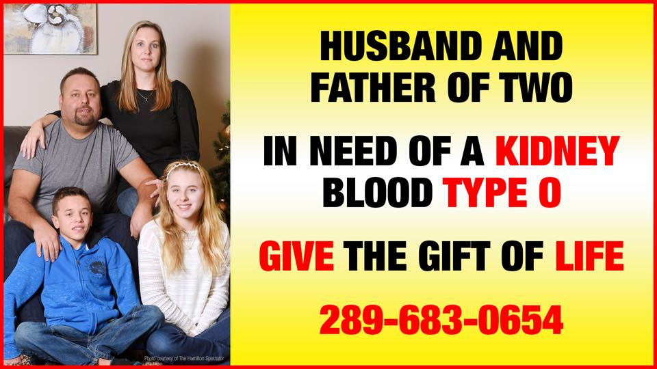 In an effort to find her husband a kidney donor, a Hamilton woman has rented billboards across the GTHA.