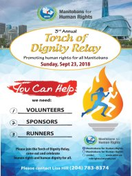 Continue reading: Torch of Dignity Relay