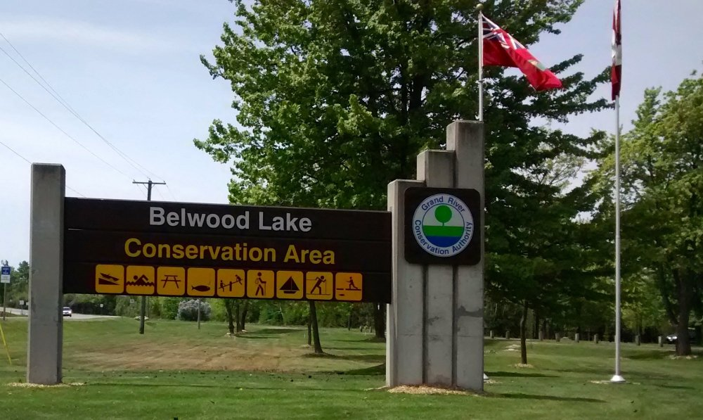 Police have identified a man who died at Belwood Lake on Canada Day.