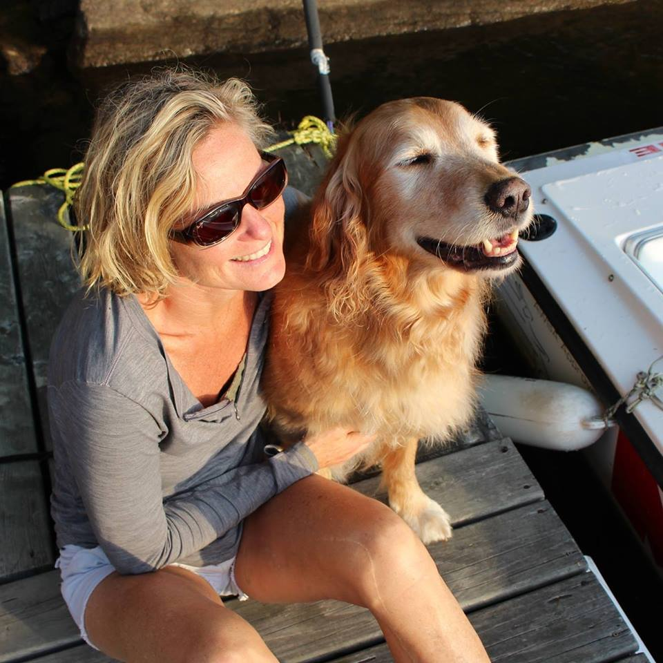 Retired COPE dog Buddy and COPE Service Dogs founder Jane Boake are set to head out on their Lake Simcoe adventure July 29.