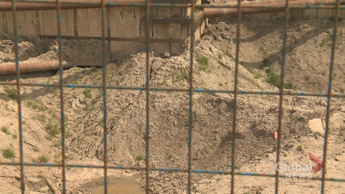 Soil berms added to the northeast corner and south wall will ensure the shoring is safe, and stable, until December according to an expert witness for the developer.