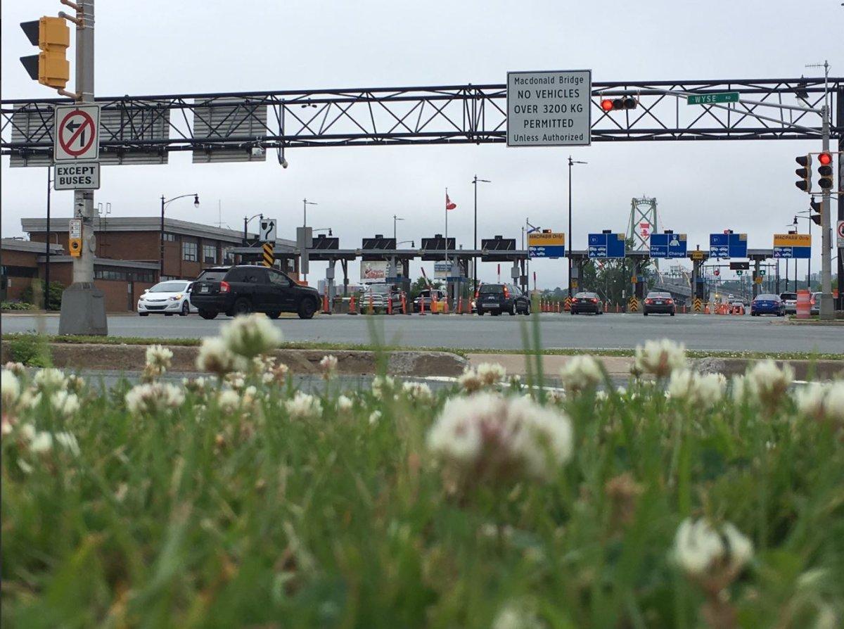Overnight closures will resume this week on the Macdonald Bridge.
