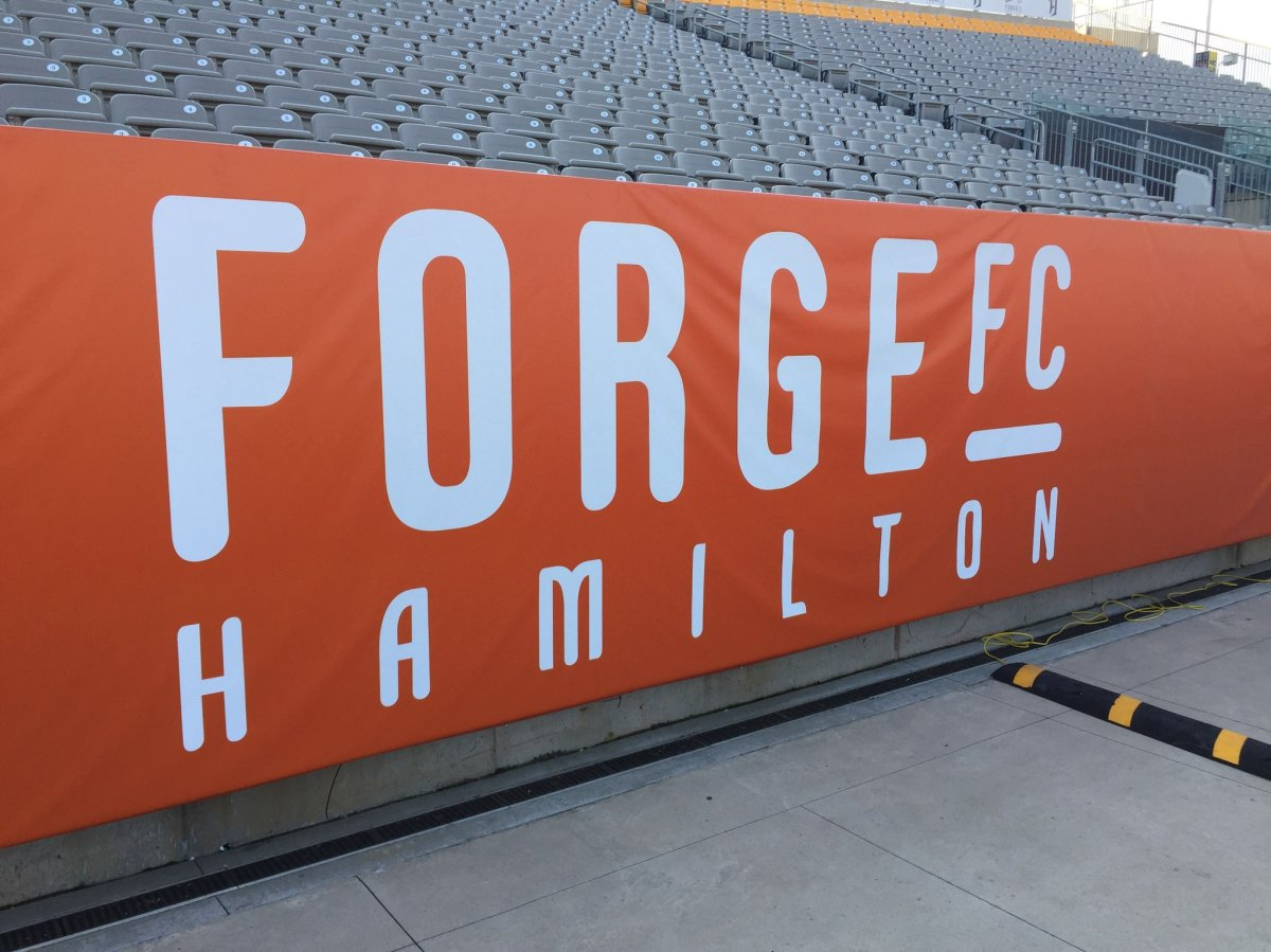 The new Forge FC colours will be orange, platinum and white with a special black and gold jersey to be worn once per season.