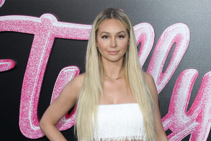 Corinne Olympios from 'The Bachelor.'.