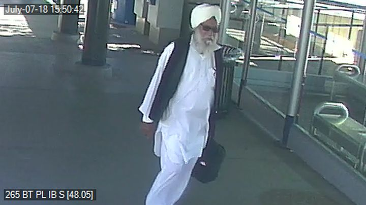Calgary police are seeking to identify a man alleged to have sexually assaulted a woman on a CTrain on July 7, 2018.