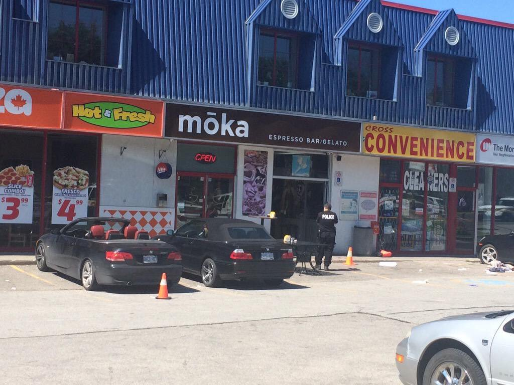 Jason Hay, 31, has been sentenced after being found guilty of two counts of first degree murder and two counts of attempted murder in the Woodbridge Moka Cafe shooting in June 2015.