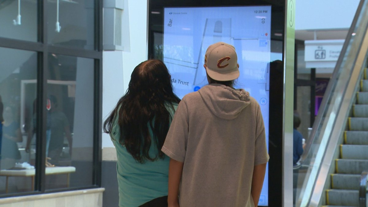 Directories in Chinook Centre are suspending use of facial recognition software.