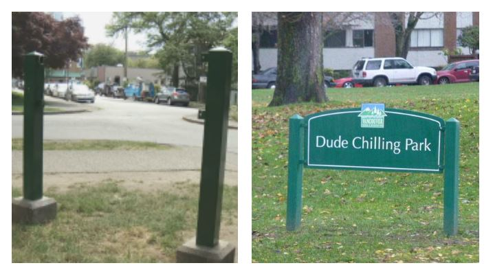 'It's unbelievable': Dude Chilling Park sign proves popular for thieves, vandals - image