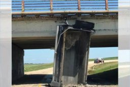 Continue reading: Bridge damaged after dump truck collision just north of Winnipeg