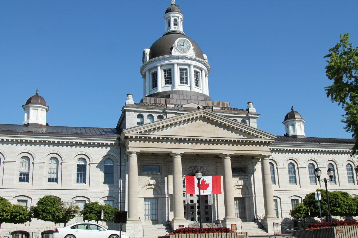 Kingston's City Hall stands at the heart of the downtown core.