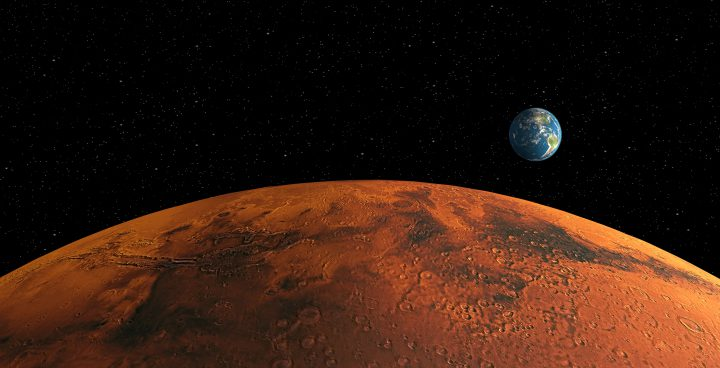 Mars will be closer to Earth this month.