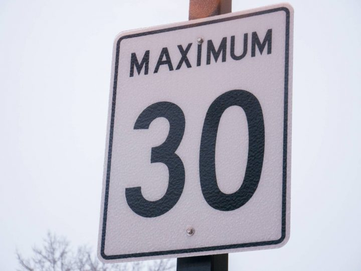 """The City of Vancouver is testing out a new """"slow zone"""" in an East Vancouver neighbourhood."""