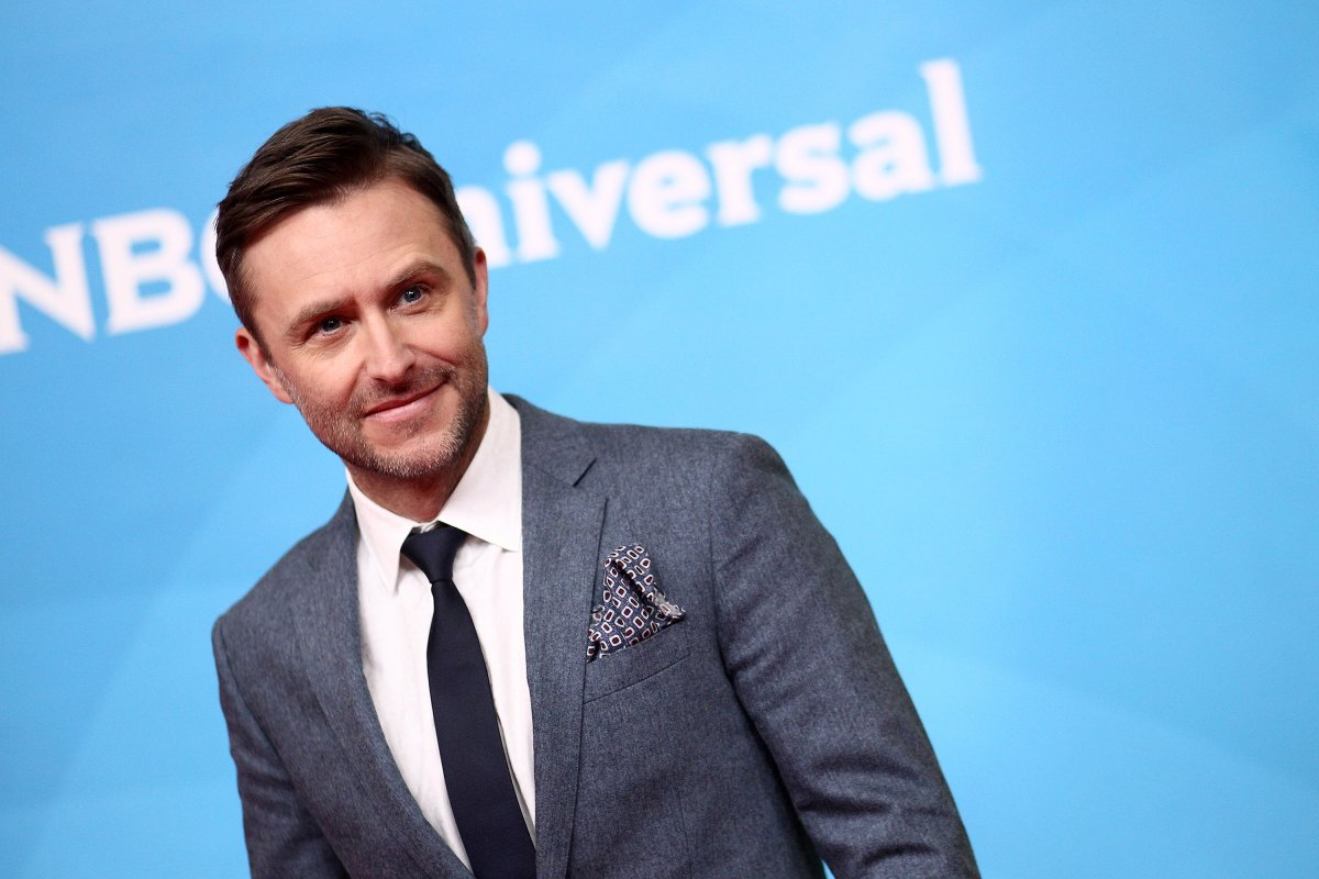 Chris Hardwick attends the NBCUniversal Summer Press Day 2018  at Universal Studios Backlot on May 2, 2018 in Universal City, California.