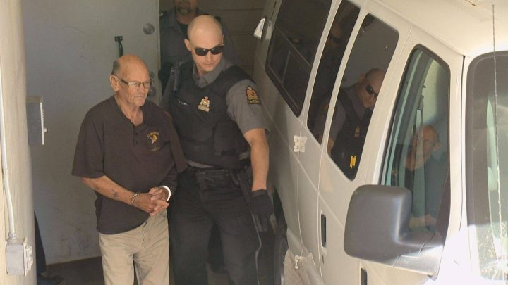 Robert Arams, 75, will appear in front of a jury after being accused of killing Claude Landry, 48, in July 2018. He is facing second-degree murder charges.