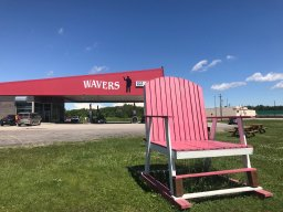 Continue reading: You are Here: Manitoba highway landmark honours long-time 'wavers'