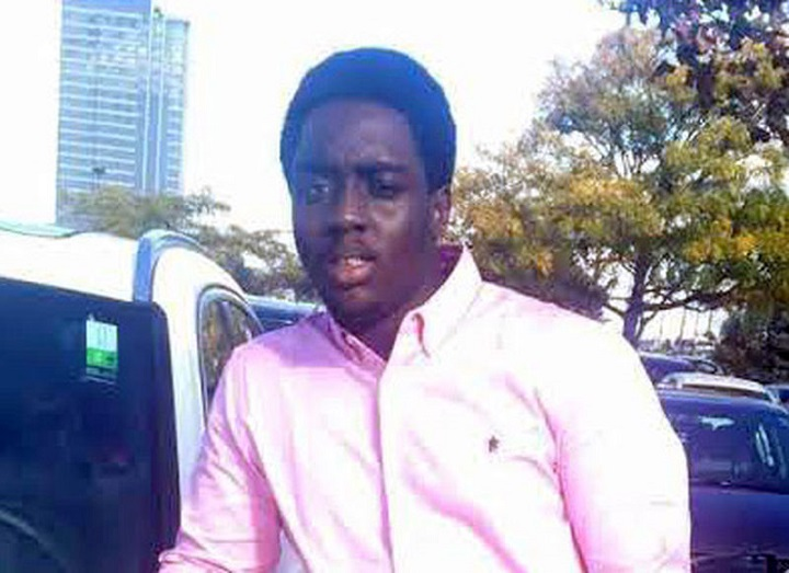 Kevin Boakye, 24, was shot and killed while driving Wednesday.