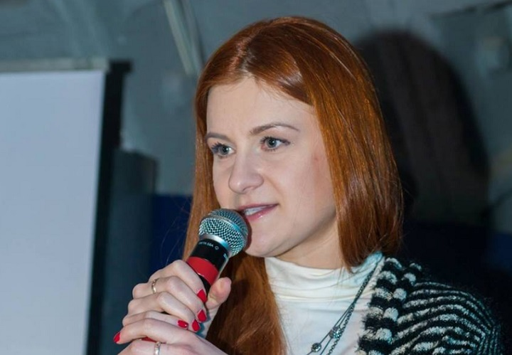 Russian Maria Butina  has been arrested and charged with conspiracy to act as an agent of the Russian government while developing ties with U.S. citizens and infiltrating political groups, the U.S. Justice Department said on Monday.