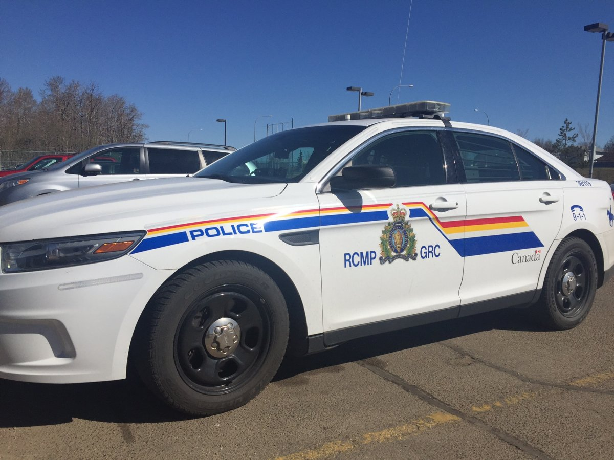 A man is dead after being hit by a train in the northern Alberta community of Slave Lake.