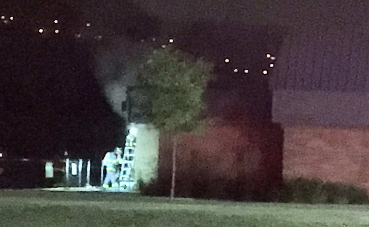 A fire at the Rutland Activity Centre Thursday night is being considered suspicious.