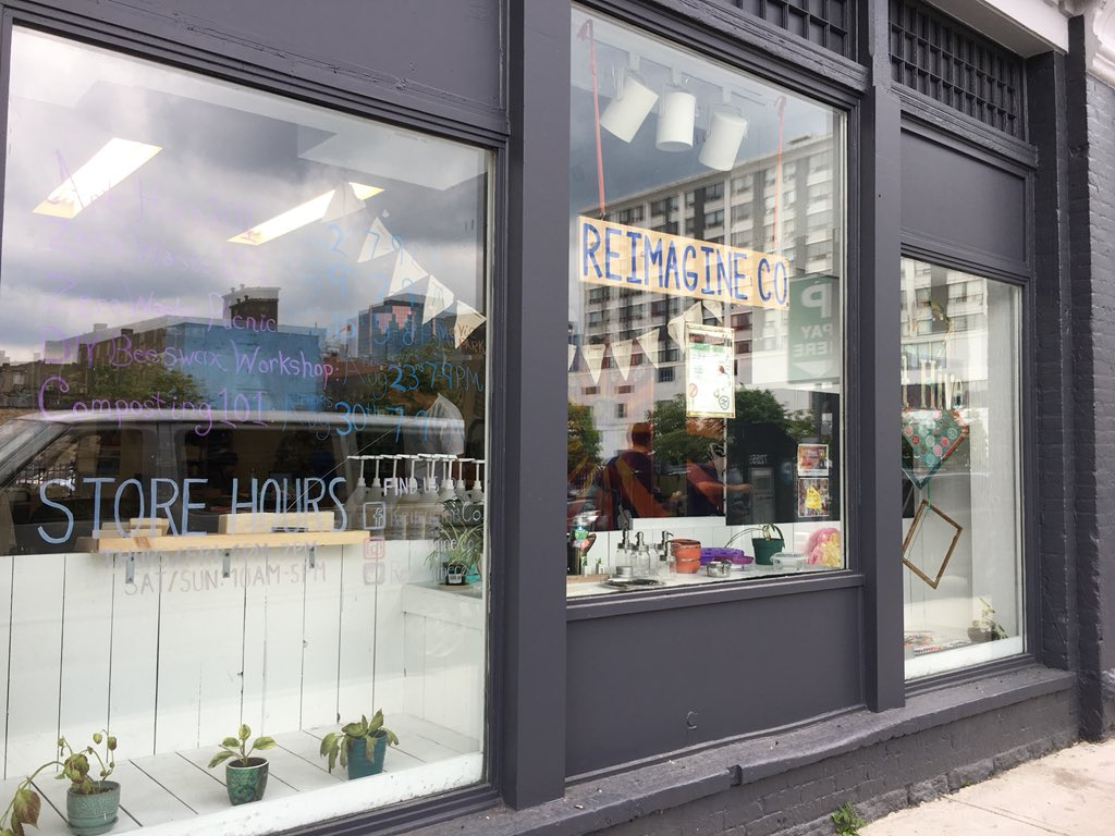 The zero waste demonstration hub Reimagine Co is holding its grand opening on Saturday.