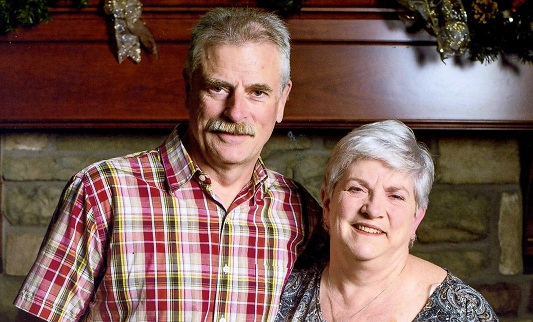 Carla and Alan Rutherford, the victims of a deadly fire in Dundas, which is now being investigated as a homicide.